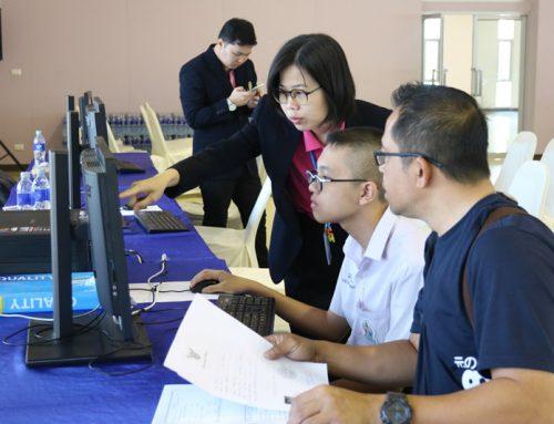 บรรยากาศการรับสมัครห้องเรียนพิเศษ ปีการศึกษา 2563