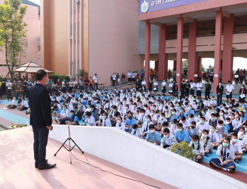 บรรยากาศการสอบห้องเรียนพิเศษ ระดับชั้นม.1 ปีการศึกษา 2563