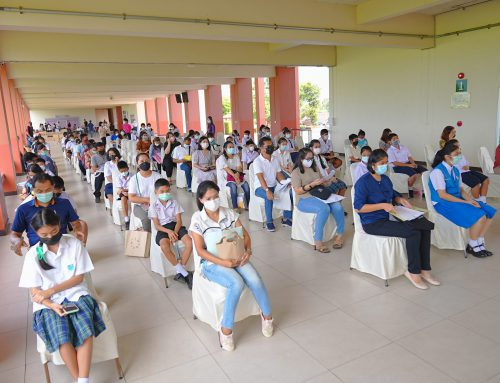 การมอบตัวนักเรียนใหม่ ม.1 และ ม.4 ปีการศึกษา 2564