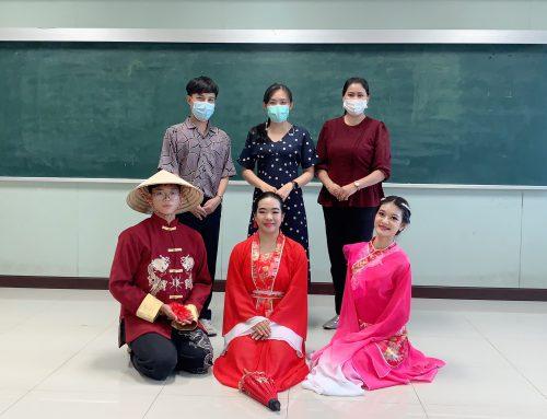 """การประกวดกล่าวสุนทรพจน์และความรู้ภาษาจีนระดับมัธยมศึกษา """"สะพานสู่ภาษาจีน"""" ครั้งที่ 14"""